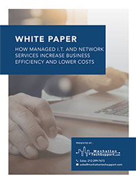 How Managed IT & Network Services Increase Business Efficiency and Lower Costs